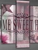 Home Sweet Home roze