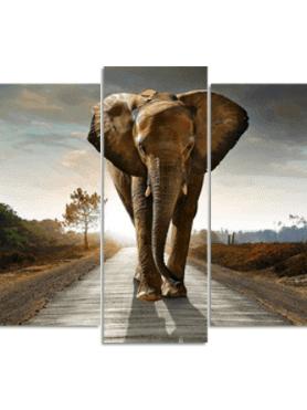 Wandelende olifant