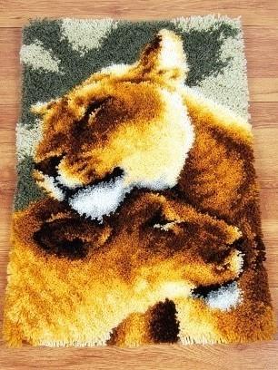 Knoopjes tapijt