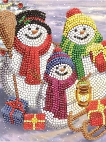 3 sneeuwpopjes