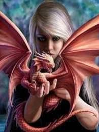 Meisje met draak
